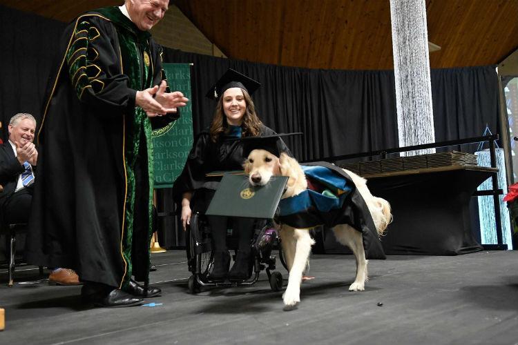 service dog clarkson university