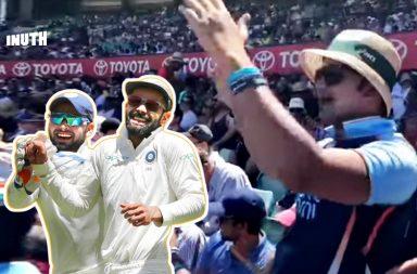 Rishabh Pant song, Rishabh Pant chant, Rishabh Pant, Bharat Army, India's tour of Australia 2018-19, SCG Test, India vs Australia 4th Test, Australia vs India 4th Test, IND v AUS, AUS v IND, Rishabh Pant funny, Rishabh Pant banter, Tim Paine banter, Pant-Paine