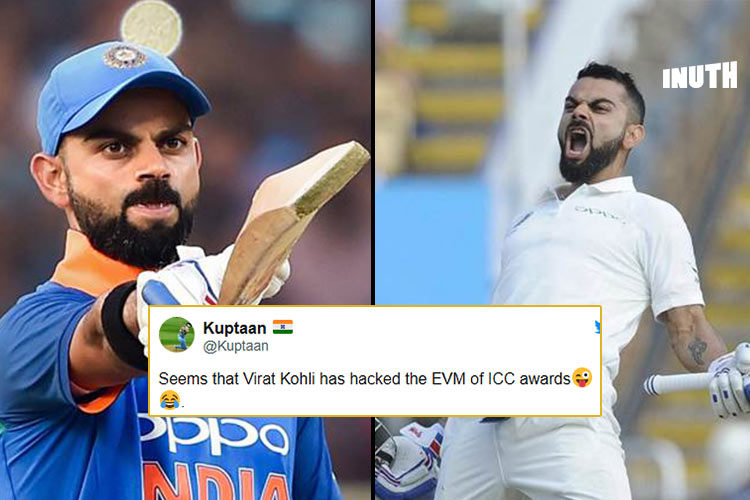 Virat Kohli Sweeping ICC Awards Has Got Twitter Talking