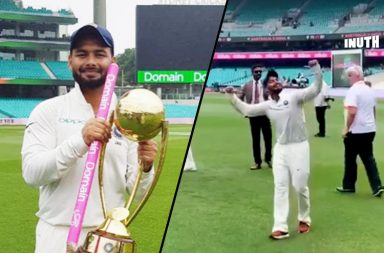 Rishabh Pant, Rishabh Pant chant, Rishabh Pant dancing, Rishabh Pant song, Rishabh Pant SCG century, Bharat Army Pant chant, India's tour of Australia 2018-19, IND v AUS 4th Test, AUS v IND 4th Test, Rishabh Pant babysitter, Tim Paine, Pant-Paine banter