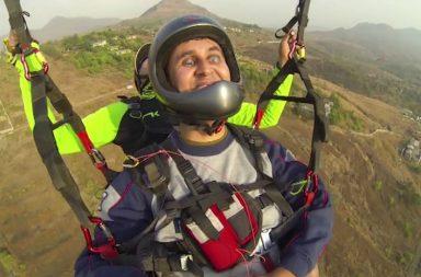 divyanshu ganatra paragliding