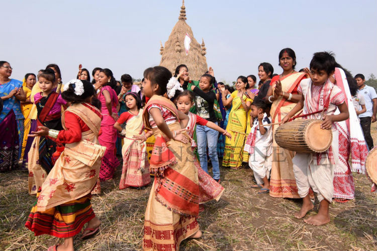 Here's How People In Assam Celebrate The Harvest Season