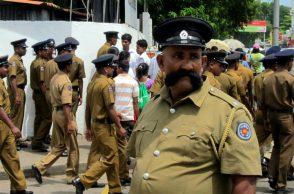 police moustache