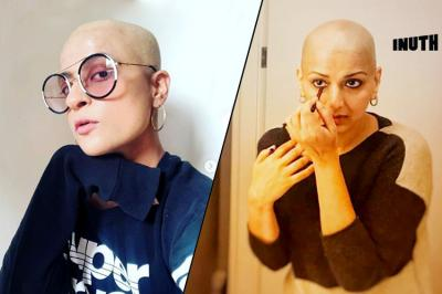 bollywood, tahira kashyap, ayushmann khurrana wife tahira goes bald, bald is beautiful, sonali bendre
