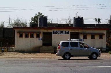 toilet on highway