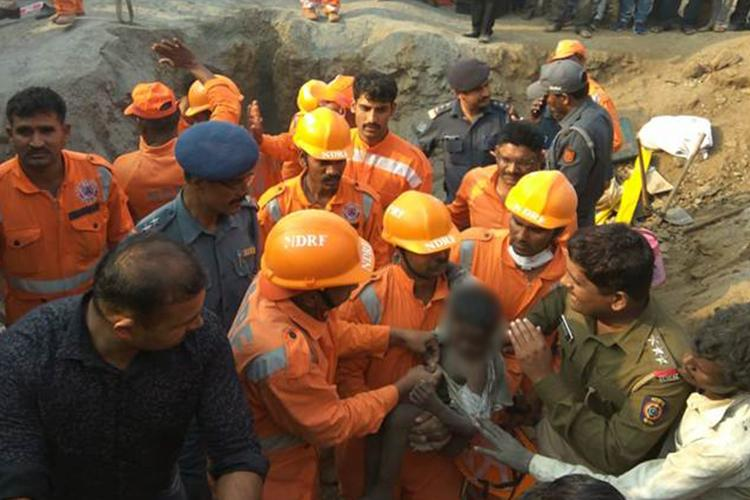 How A 6-Year-Old Was Rescued From A 200-Ft Borewell