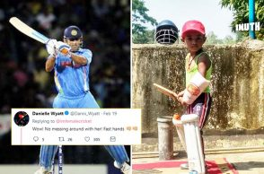 4-year-old MS Dhoni fan, Young MS Dhoni fan, Sudhruti batting, Sudhruti MS Dhoni, Sudhruti Odisha, Sudhruti Balasore District, Sudhruti viral video, Sudhruti batting video