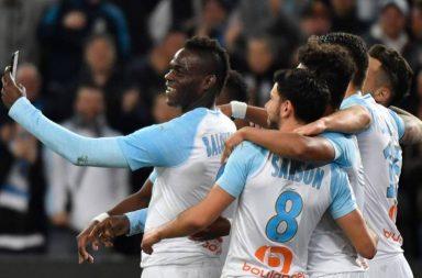 Mario Balotelli, Mario Balotelli Instagram, Mario Balotelli Instagram celebration, Mario Balotelli overhead goal, Marseille vs Saint-Etienne