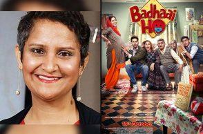 badhaai ho, jyoti kapoor, filmfare removes jyoti kapoor's nomination from best story category, junglee pictures