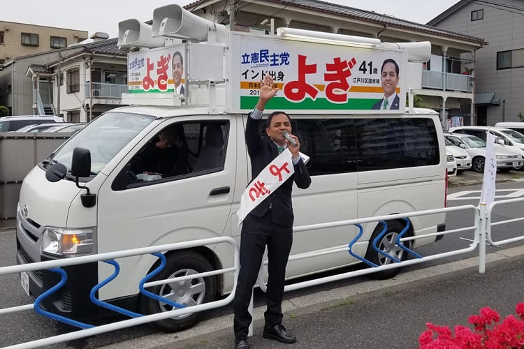 This Man From Pune Is Contesting Elections…In Japan