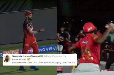 Virat Kohli, R Ashwin, Virat Kohli sendoff, Ashwin sendoff, Royal Challengers Bangalore vs Kings XI Punjab 2019, RCB vs KXIP 2019, Kohli-Ashwin tension, Kohli-Ashwin mankading