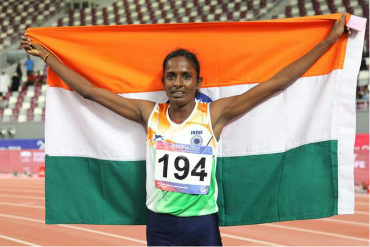 This Tamil Nadu Farmer's Daughter Beat All Odds To Win Gold For India