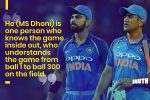 Virat Kohli Has A Message For Those Questioning Dhoni's Spot In The 2019 World Cup Squad
