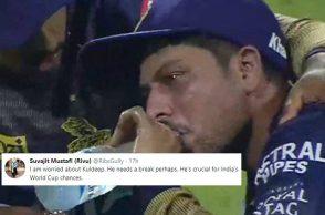 Kuldeep Yadav, Kuldeep Yadav crying, Kuldeep Yadav breaks down, Kuldeep Yadav emotional, Kuldeep Yadav most expensive, Kuldeep Yadav 59 vs RCB, Kuldeep Yadav-Moeen Ali, Kuldeep Yadav IPL 2019, Kuldeep Yadav KKR, Kolkata Knight Riders vs Royal Challengers Bangalore 2019, KKR vs RCB IPL 2019