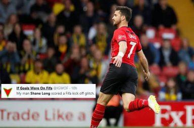 Shane Long fastest goal, Shane Long quickest goal, Shane Long Southampton, Quickest Premier League goal, Southampton vs Watford 2019, Watford vs Southampton 2019, Ledley King, Ledley King fastest goal