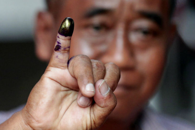 indonesia elections ink