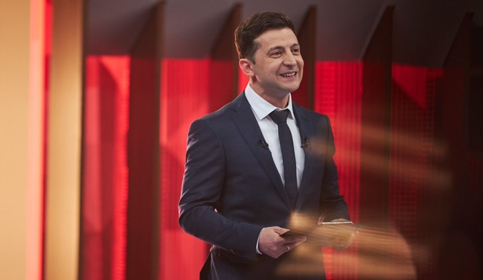 Comedian Who Played A Politician On TV Becomes Ukraine's New President