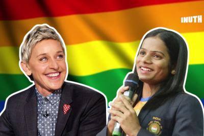 Ellen , Ellen Dutee Chand, Ellen gay, Ellen coming out, Dutee Chand Ellen coming out, Dutee Chand gay