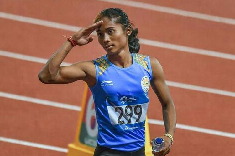 Despite Being In Training, Hima Das Secures First Division in Assam AHSEC Exams