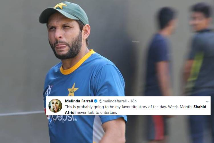 Shahid Afridi Has Finally Revealed His Real Age And Now