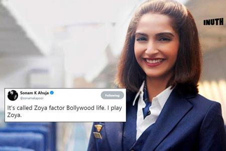 Sonam Kapoor, Sonam Kapoor movies, Sonam Kapoor The Zoya Factor, Sonam Kapoor Twitter, Sonam Kapoor Neerja, Sonam Kapoor Twitter Bollywood Life