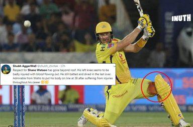 Shane Watson, Shane Watson IPL 2019 final, Shane Watson bleeding knee, Harbhajan Singh, Watson-Harbhajan, Mumbai Indians vs Chennai Super Kings IPL final, Chennai Super Kings vs Mumbai Indians IPL final