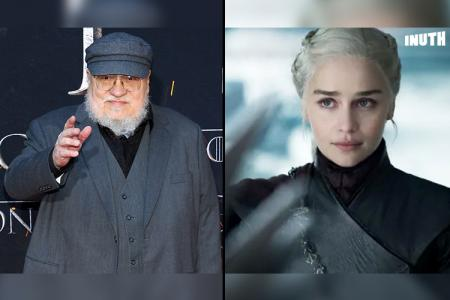 grr martin, game of thrones, a song of ice and fire, grr martin confirms the book ending of game of thrones will be different than the show