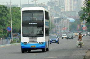 kolkata double decker bus