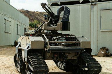 military border robot