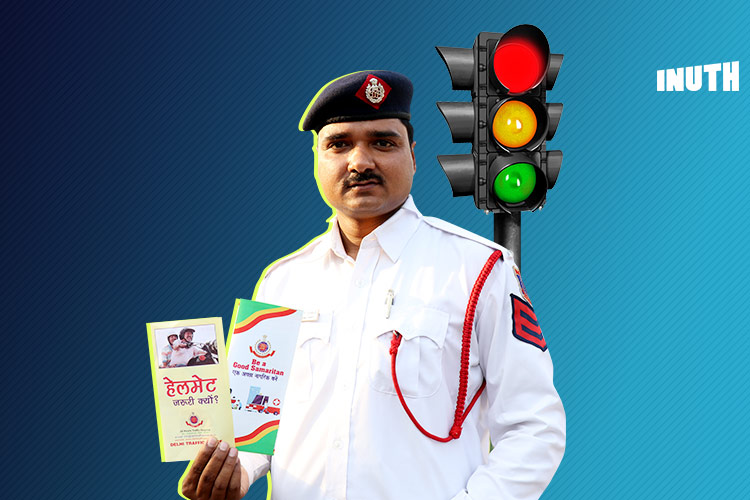 This Delhi Traffic Cop's Rapping To Keep You Safe