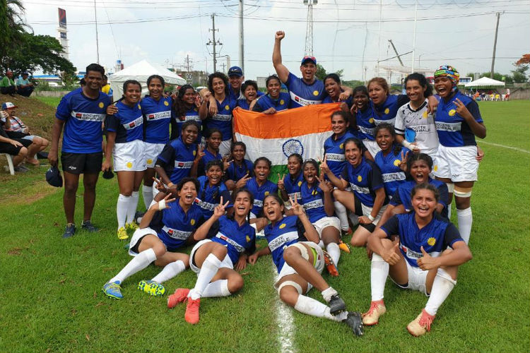 Indian Women's Rugby Team Create History With First-ever International Win