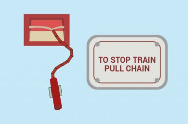 emergency chain indian railway