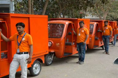 grofers electric vehicles