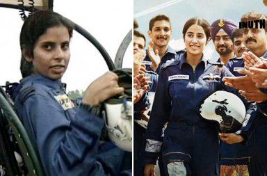 Gunjan Saxena, Gunjan Saxena biopic, Gunjan Saxena IAF pilot, Janhvi Kapoor Gunjan Saxena, Janhvi Kapoor movies