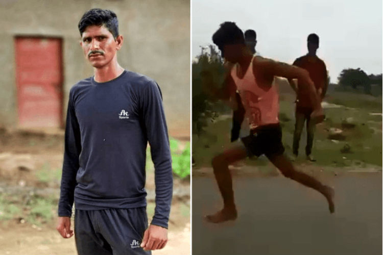 This Sprinter From Madhya Pradesh Ran 100m In 11 Seconds Without Footwear