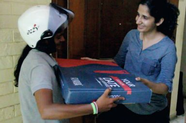 delivery women
