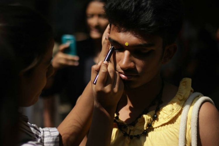 At This Indian University, Students Cross-Dress To Make A Point