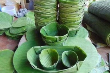 Baksa district in Assam has decided to discard single-use plastic and use banana leaves instead