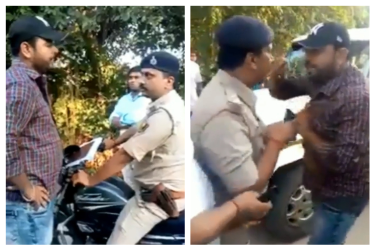 Bihar Cop Arrests Man Who Questioned Him For Not Wearing Helmet