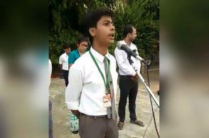 varanasi school boy