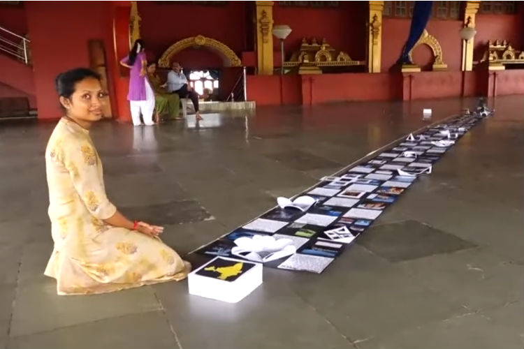 This Mangaluru Student Entered India Book Of Records With 'Longest Gift Box'