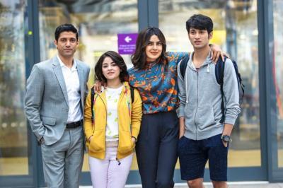 The Sky Is Pink, The Sky Is Pink review, The Sky Is Pink movie review, The Sky Is Pink Priyanka Chopra Jonas, Farhan Akhtar, Aisha Chaudhary