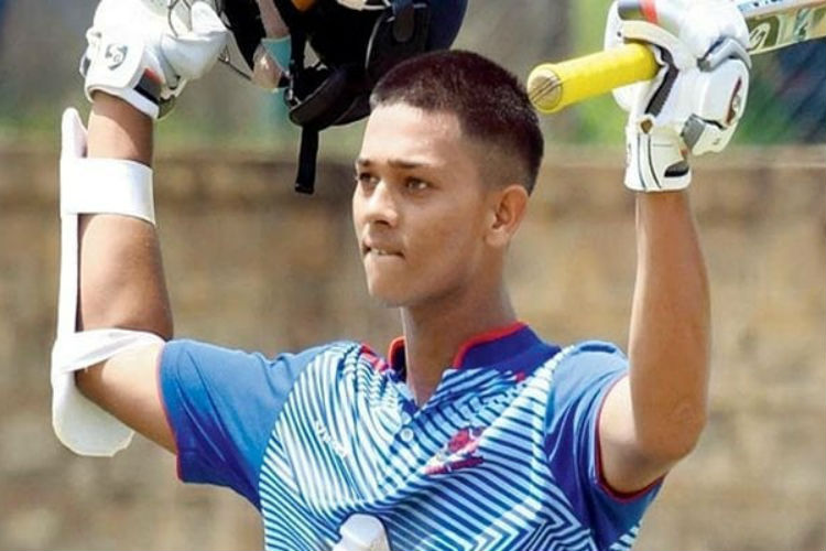 Youngest Batsman To Score Double Century Shows Hard Work Pays Off