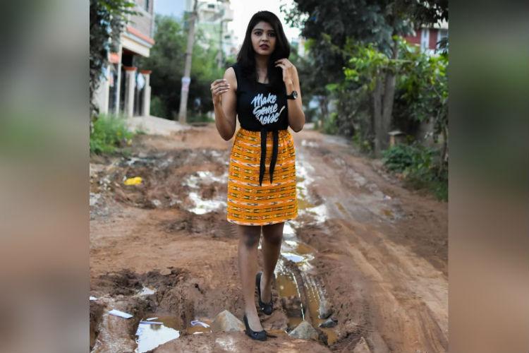 Bengaluru pothole