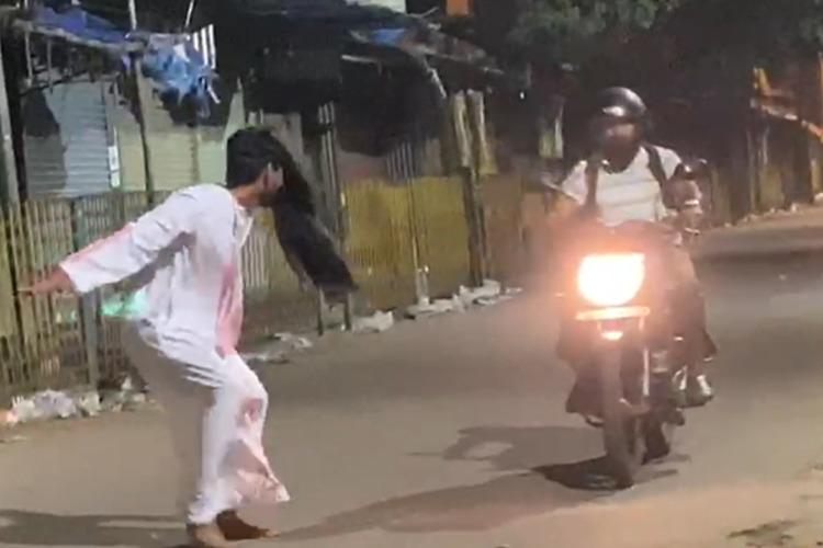 Bengaluru Men Dress Up As Ghost To Prank People, Get Arrested
