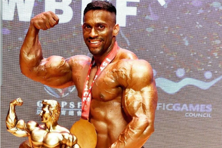 Meet The First Indian To Win WBPF Mr Universe Title