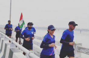 iaf officers marathon