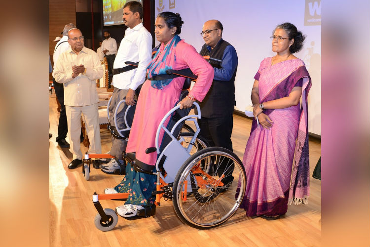 IIT Madras Designs India's First Affordable 'Standing Wheelchair'