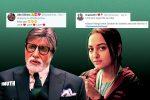 The Vital Difference Between Amitabh Bachchan & Sonakshi Sinha Being 2019's Most TweetedHandles