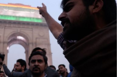 India Gate protest